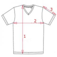 Size Chart V-Neck Men
